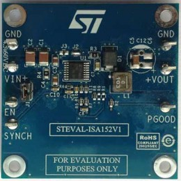 Оценочная плата STEVAL-ISA152V1 высокоэффективного понижающего DC-DC преобразователя на основе L7987