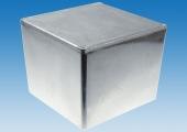 Литой корпус G0475 с размерами 120,5х120,5х95,2 мм из прочного алюминиевого сплава
