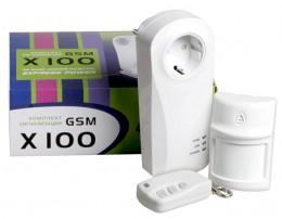 Используйте комплект Х-100 GSM-сигнализации для охраны помещений