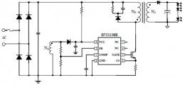 """Описание и технические параметры интегральной микросхемы LED контроллера BP3319MB компании """"Bright Power Semiconductor""""."""