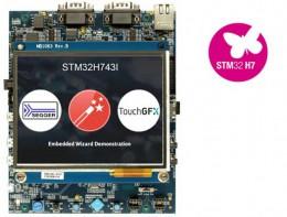 Оценочная плата на основе микроконтроллера STM32H743XI