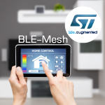 Mesh-протокол для BLE-чипов BlueNRG-1, BlueNRG-2 и BlueNRG-MS