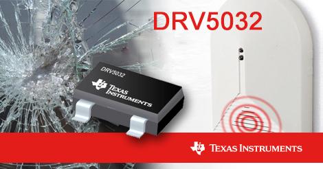 DRV5032 — датчик Холла с рекордно низким потреблением 540 нА